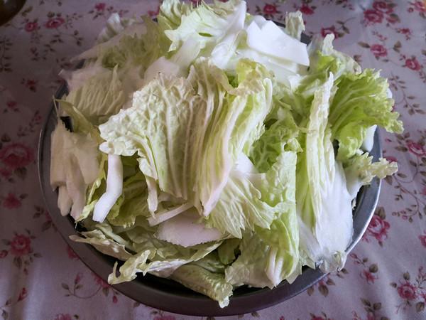 白菜炖豆腐的做法图解
