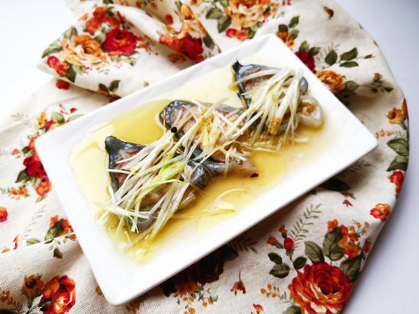 葱油海参斑成品图