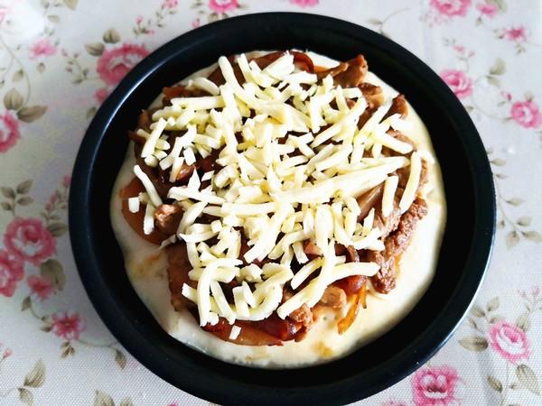 蜜汁里脊披萨的简单做法