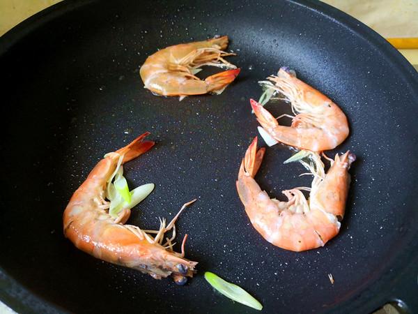 鲜虾面的简单做法