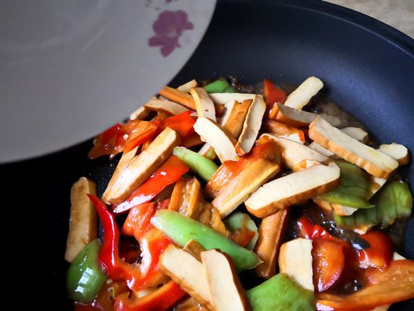 尖椒干豆腐怎么做