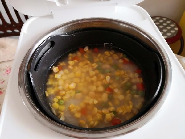 玉米饭的家常做法