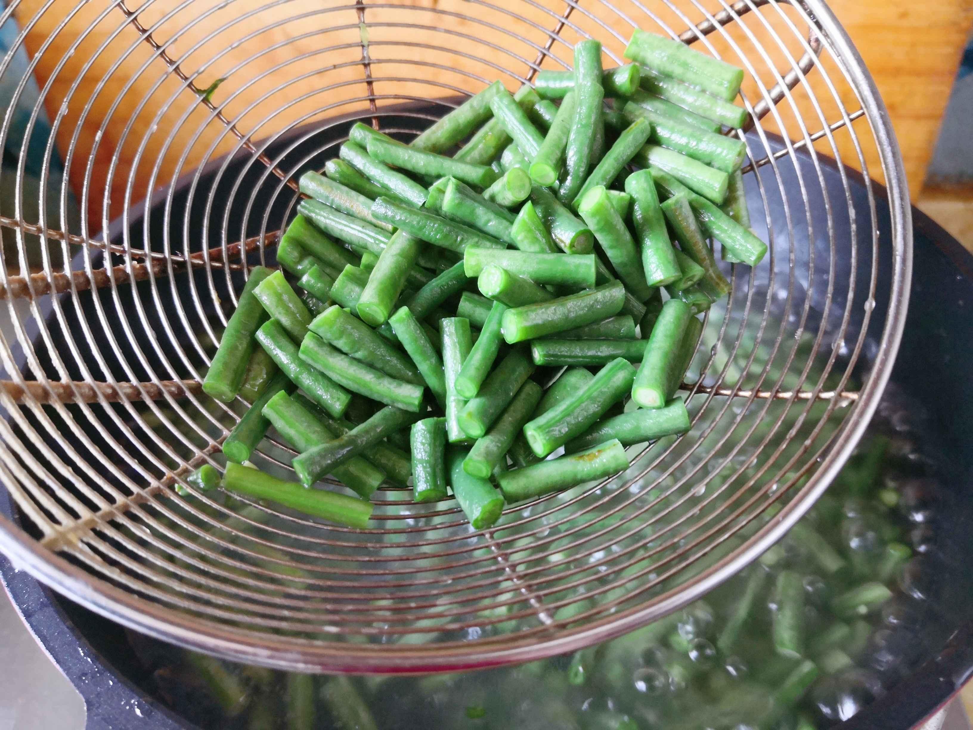 蒜泥豇豆的做法图解