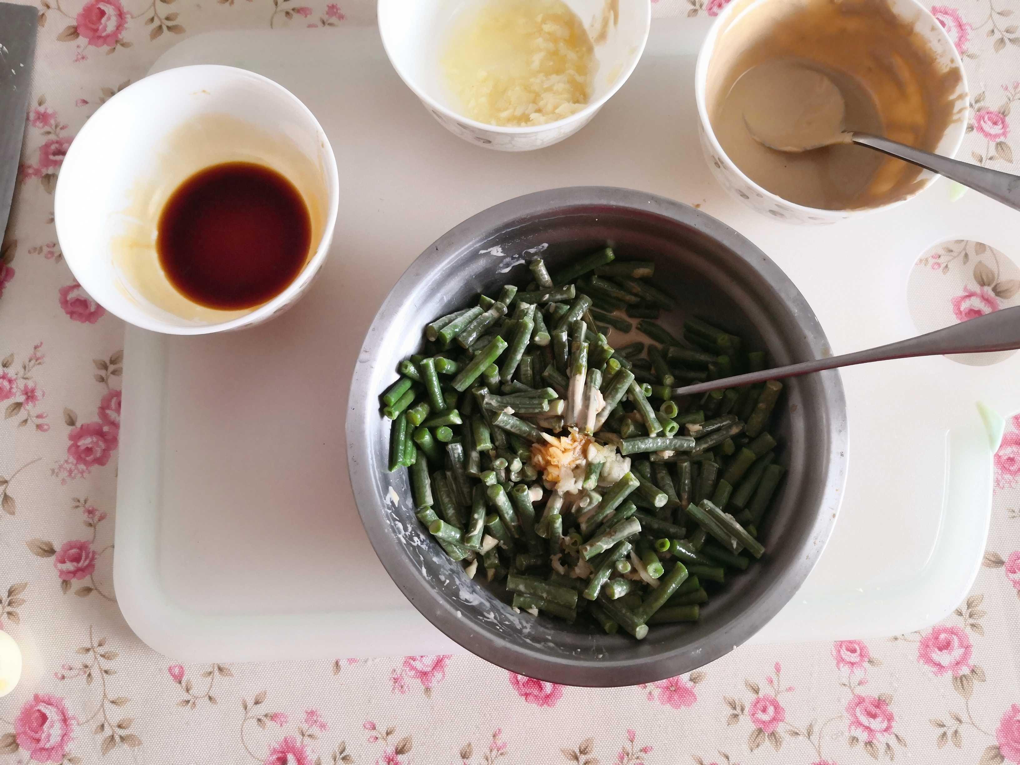 蒜泥豇豆怎么吃