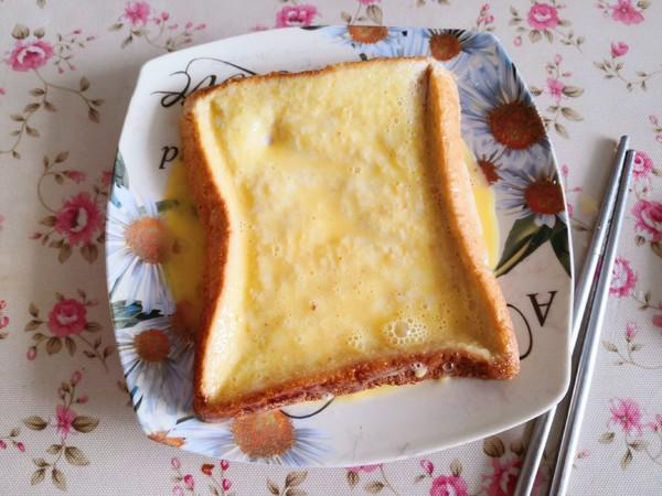 米糊煎面包的简单做法