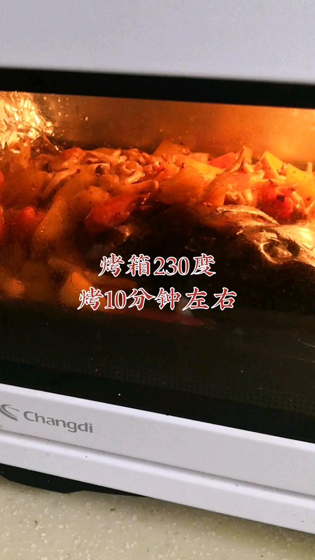 鲜辣够味儿的烤鱼的简单做法