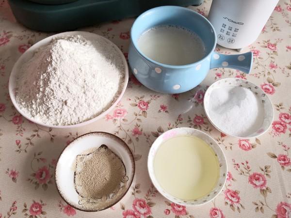喝剩的豆浆不要扔,做面包太香了的简单做法