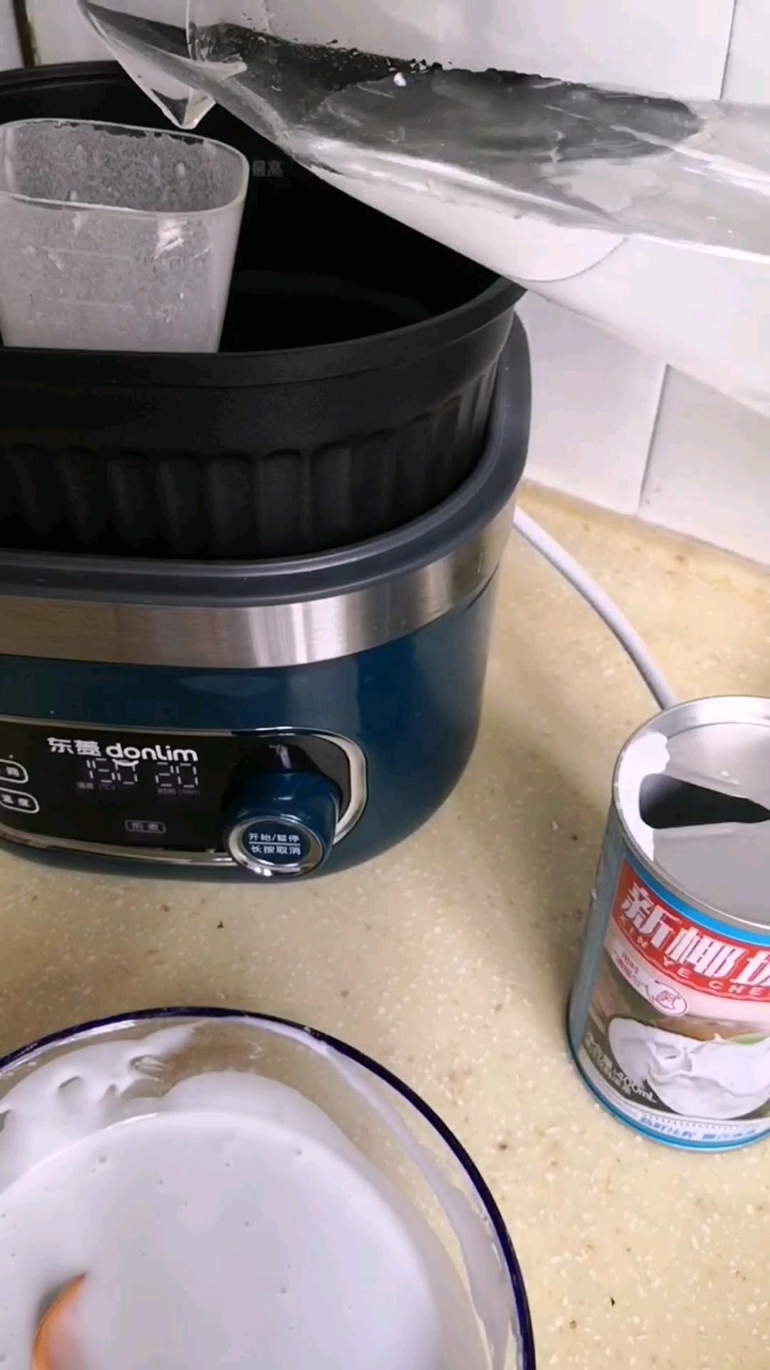 顺滑好吃的椰浆凉粉的做法图解