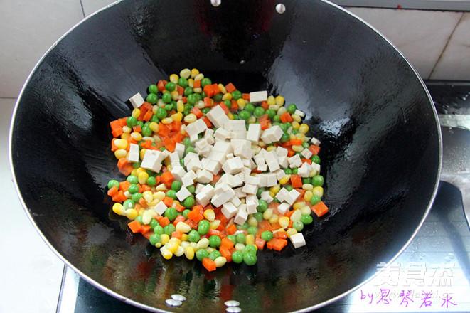 五彩玉米怎么炒