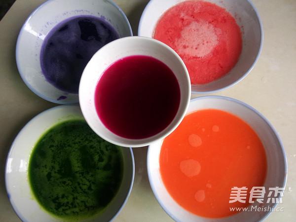 彩色水饺的做法图解
