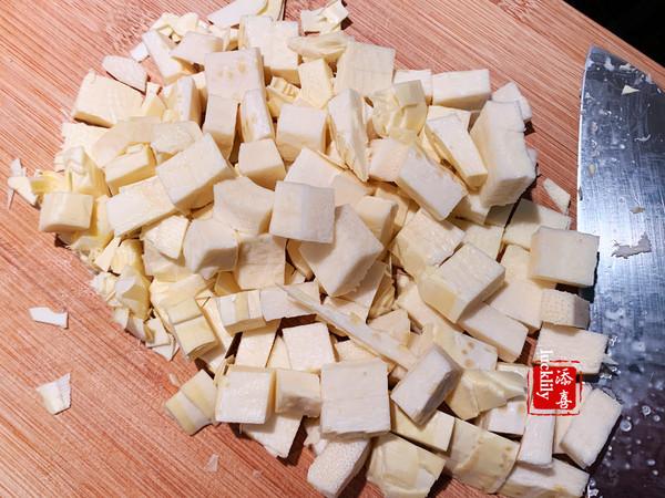 辣子腌菜冬笋炒豆干的做法图解