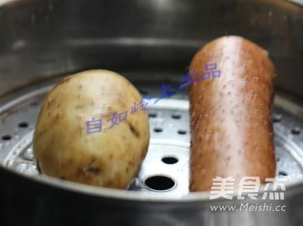 土豆泥山药饼的做法大全