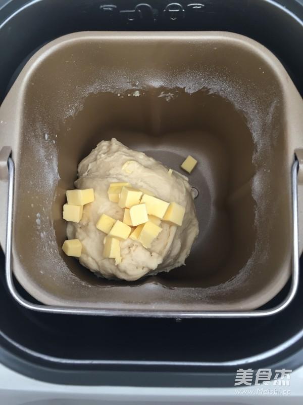 蔓越莓杏仁奶酥面包的做法图解