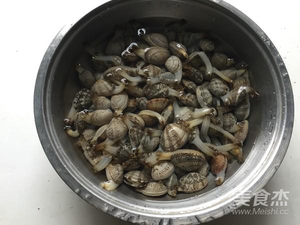 香菇酱炒花蛤的做法大全