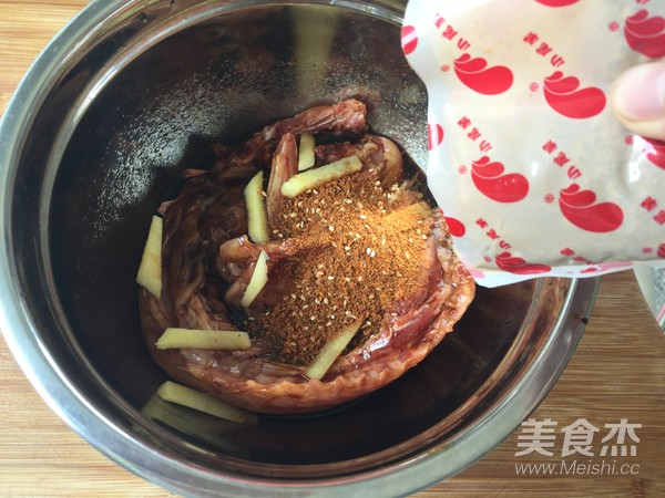 烤兔肉(空气炸锅版)的简单做法