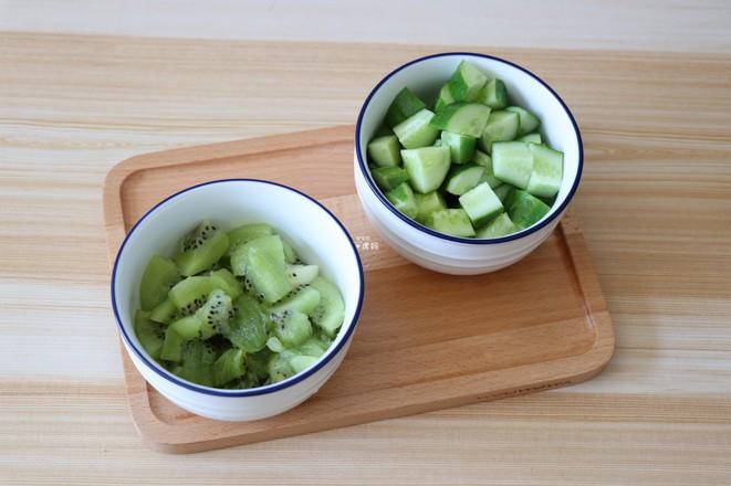 猕猴桃黄瓜汁的简单做法
