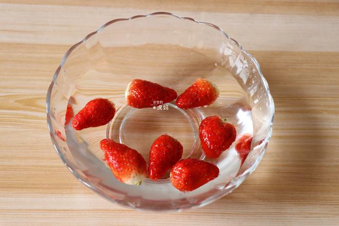 草莓奶昔的做法图解