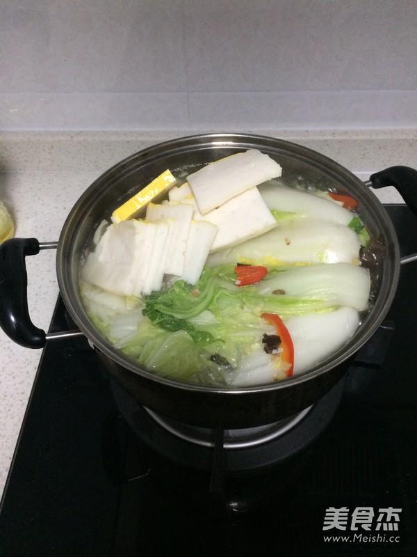 鱼糕大白菜怎么煮