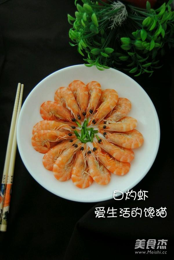 白灼虾的简单做法