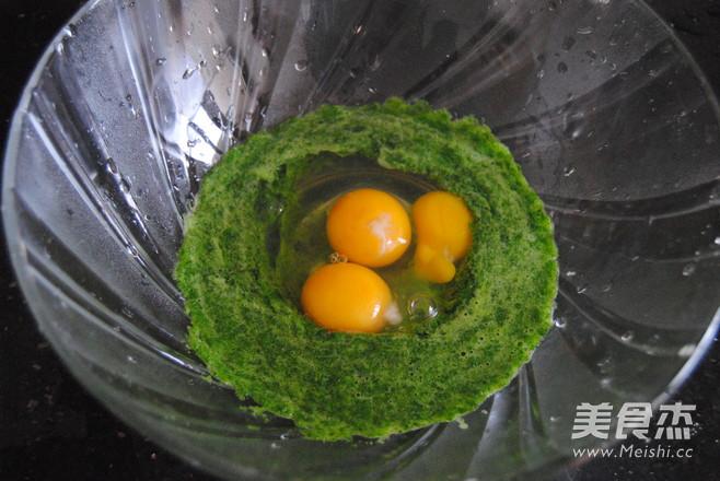菠菜鸡蛋卷的做法大全