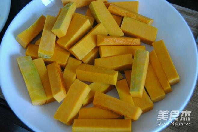 蛋黄焗南瓜的做法图解