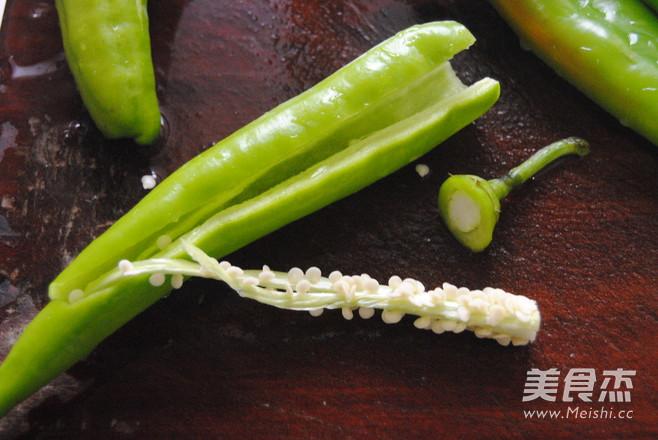 豆豉尖椒的做法图解