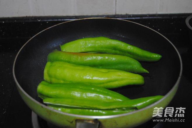 豆豉尖椒的简单做法