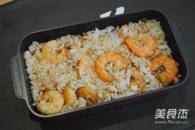 黑胡椒鲜虾芝士饭怎么煮