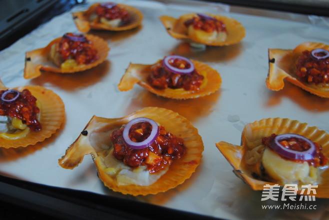 韩式烤扇贝怎么炒