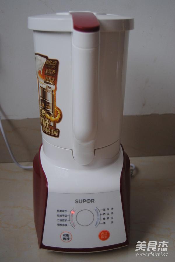 元气豆浆怎么做