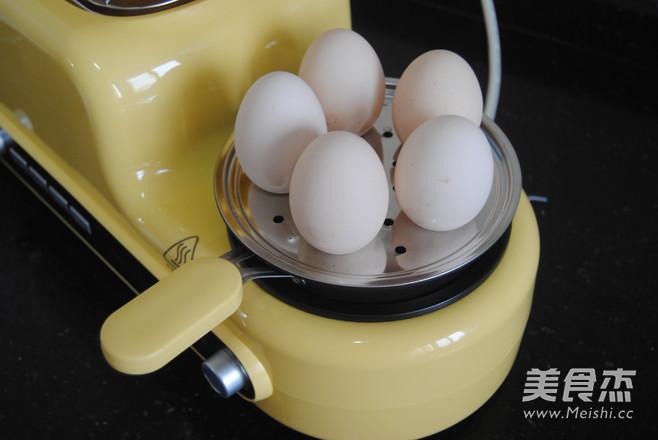 鸡蛋沙拉杯的步骤