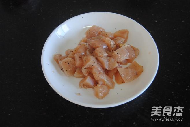 黑椒鸡米花的家常做法