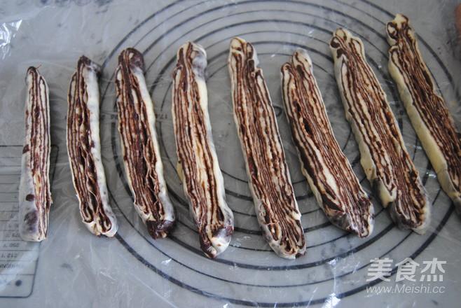 巧克力千层包的制作