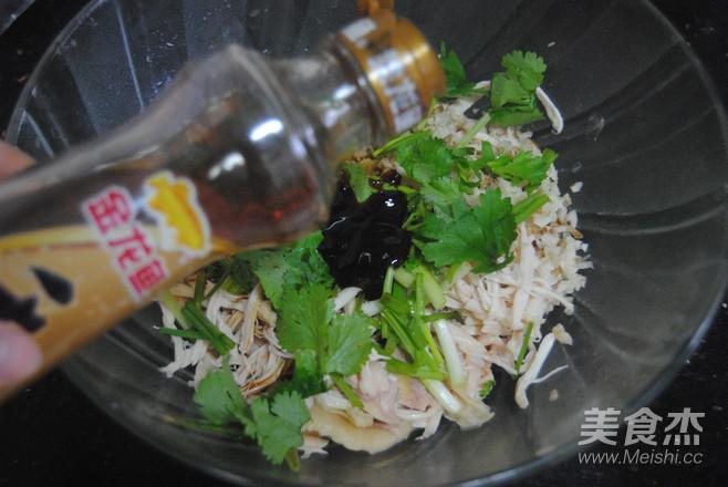 沙姜麻油鸡丝怎么煮