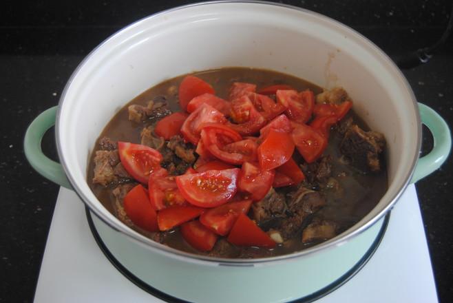番茄牛腩怎么炒