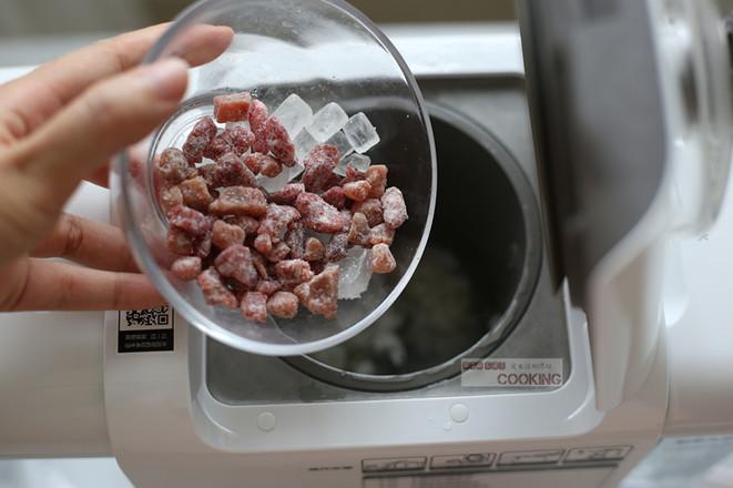 红粉佳人草莓米糊的家常做法
