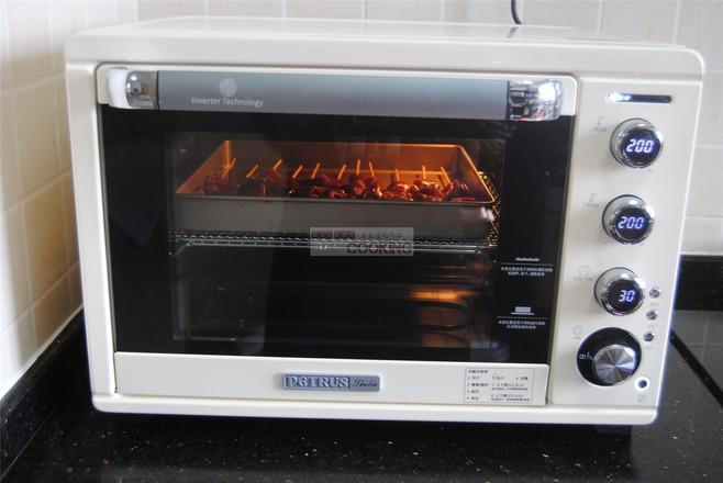 烧烤鸭胗(烤箱版)的简单做法