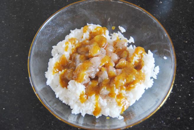 黄金咖喱虾饭团怎么吃