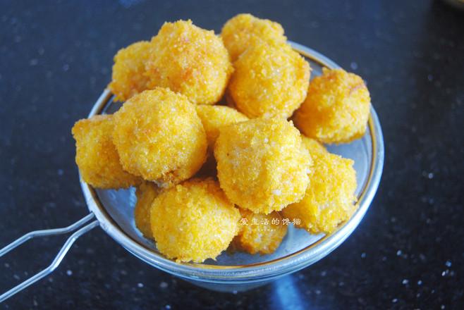 黄金咖喱虾饭团怎么炖