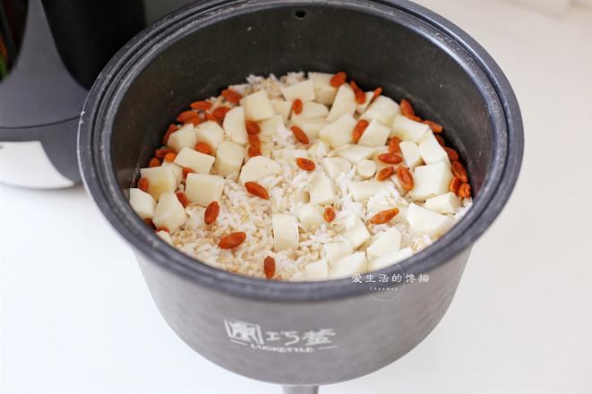 山药枸杞燕麦饭怎么做