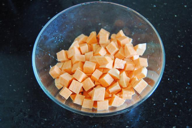 红薯杂粮饭的家常做法