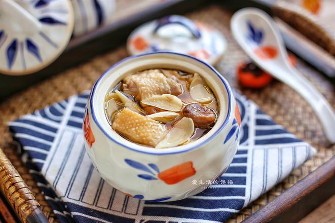 板栗鸡汤成品图