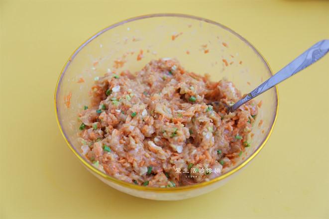 胡萝卜鸡肉煎饺的简单做法
