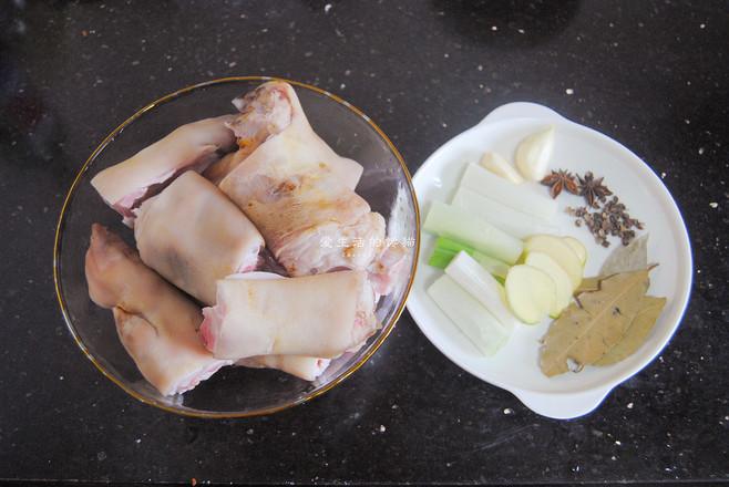 香焖猪蹄的做法大全