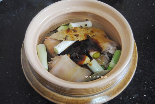香焖猪蹄的简单做法