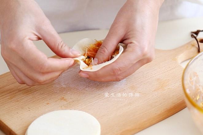 饺子皮版水煎包怎么煮