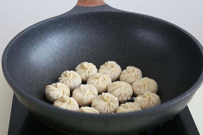 饺子皮版水煎包怎么煸