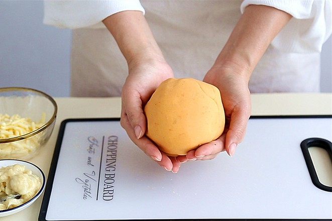 红薯榴莲芝士饼怎么吃