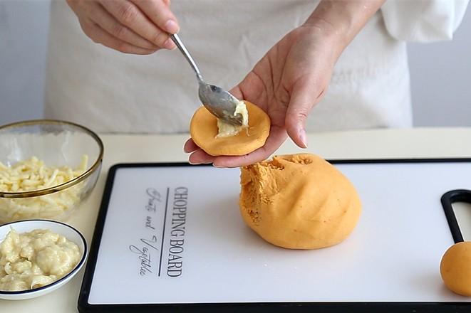 红薯榴莲芝士饼怎么做