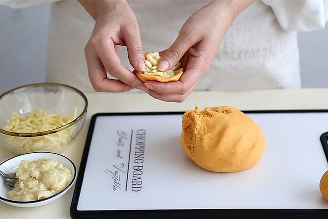 红薯榴莲芝士饼怎么炒